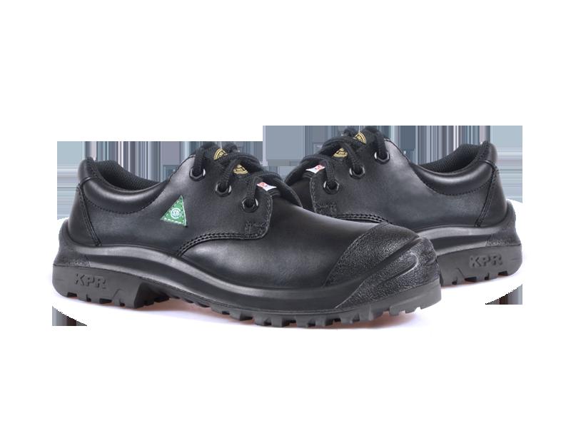 KPR M-Series M-018B1 Comfort Lace up Safety Oxford Black