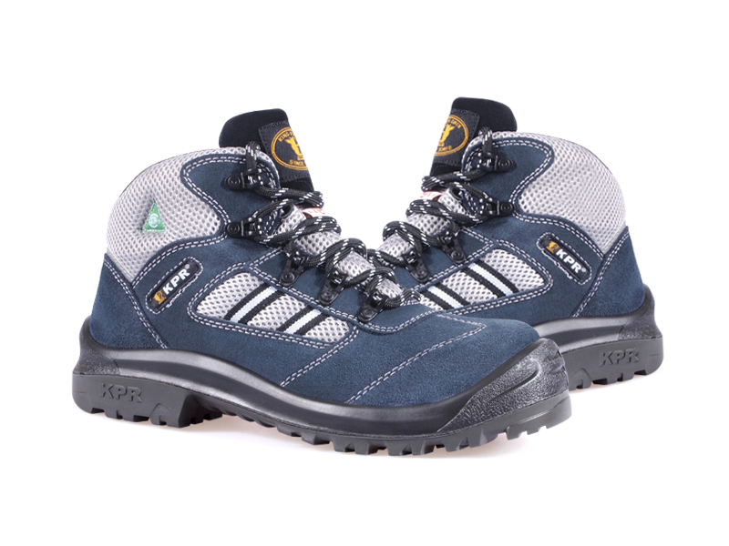 KPR M-Series M-027-1 6 inch Safety Boot Lightweight Lace Up Blue