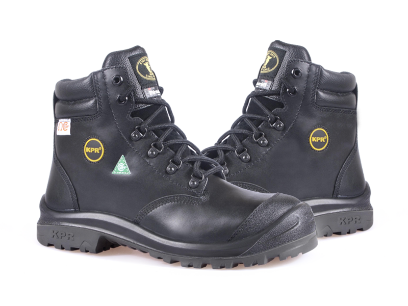 KPR M-Series M-222 6 inch Waterproof Insulated Safety Boot Black