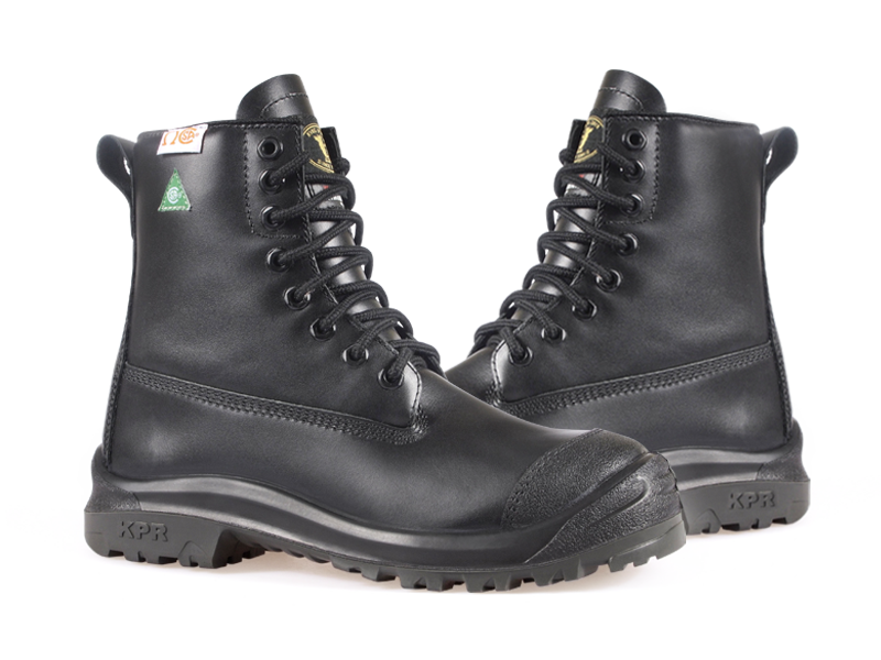 KPR M-Series M-233 8 inch Waterproof Insulated Safety Boot Black