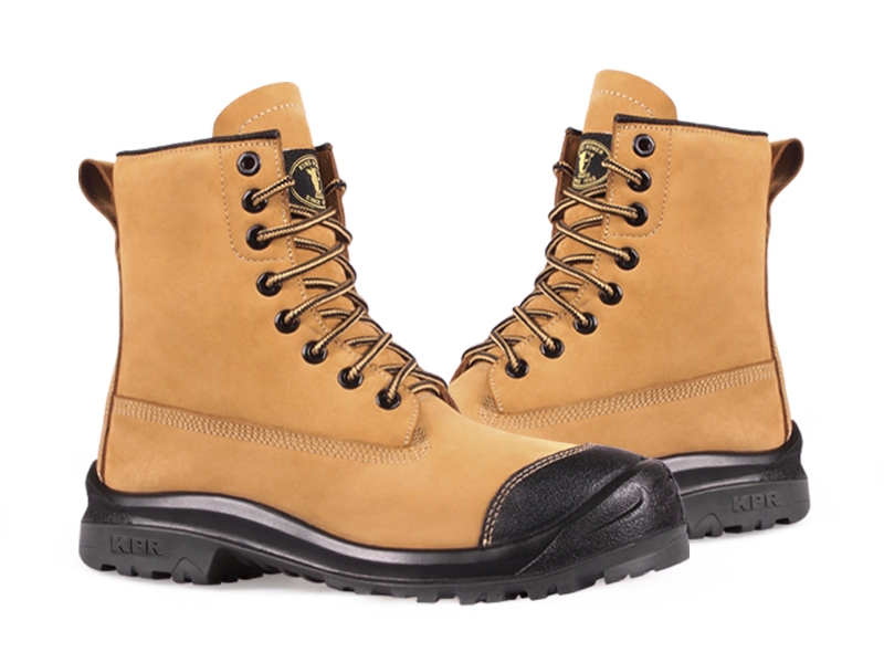 KPR M-Series M-233 8 inch Safety Construction Boot Wheat