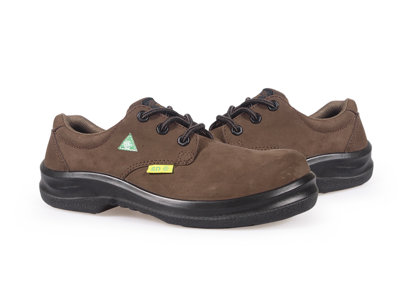 KPR O-Series O-018A2 Nubuck Comfort Lace up Slip Resistant Safety Oxford