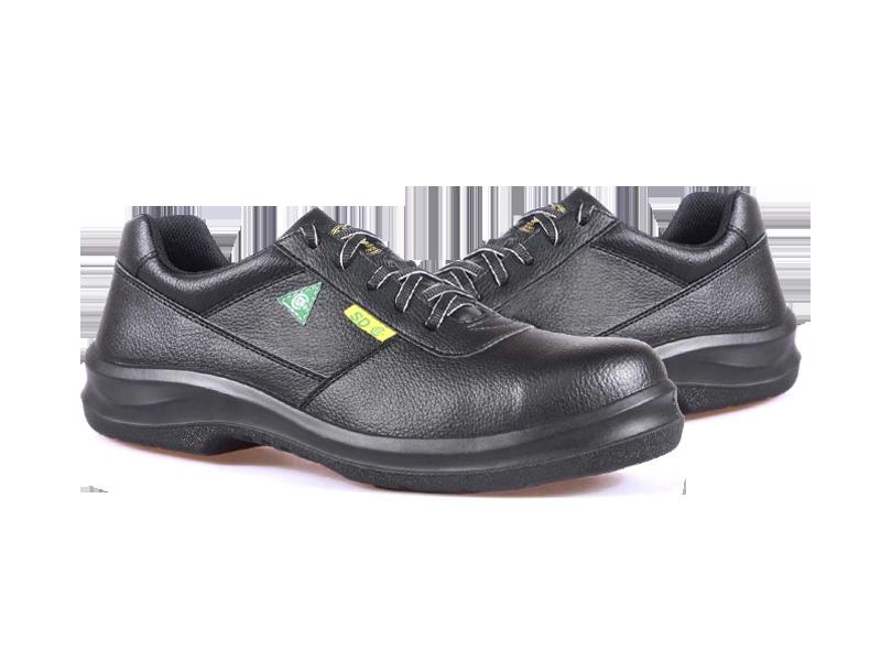 KPR O-Series O-083B Lightweight Lace up Slip Resistant Safety Oxford Black