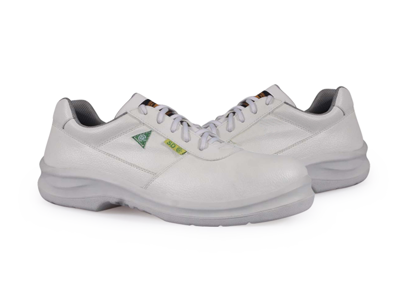 KPR O-Series O-083W Lightweight Lace up Slip Resistant Safety Oxford White
