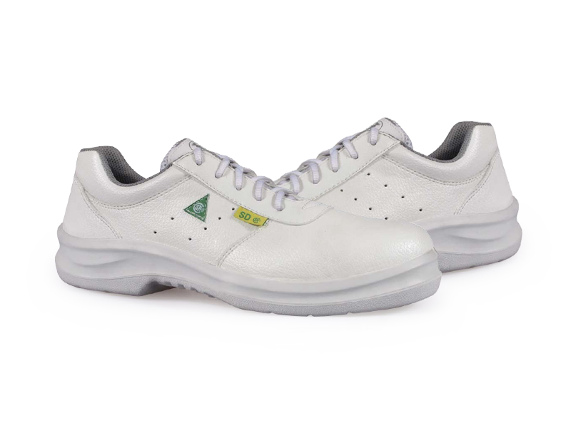KPR O-Series O-089W Lightweight Lace up Slip Resistant Safety Oxford White